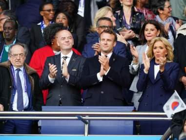 Coupe du monde de football féminin : Emmanuel et Brigitte Macron, Sylvie Tellier, Marine Lorphelin et d'autres soutiennent les Bleues