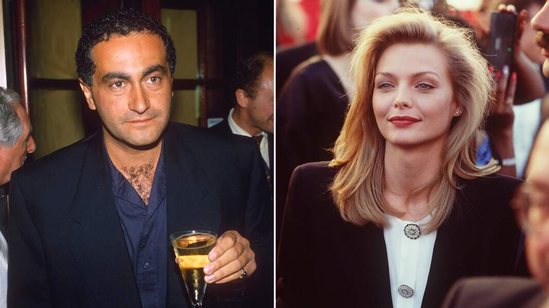 Décembre 1988: Dodi Al-Fayed et Michelle Pfeiffer restent ensemble pendant un an