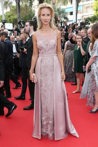 Cannes - Montée des Marches pour le 70ème anniversaire : Lady Victoria Hervey