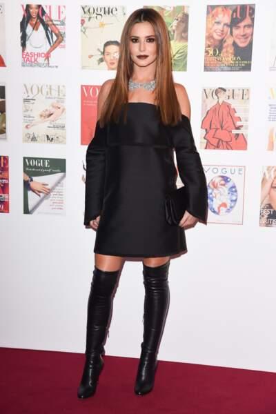 Cheryl Cole, en cuissardes