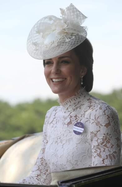 Kate Middleton semblait en tout cas ravie