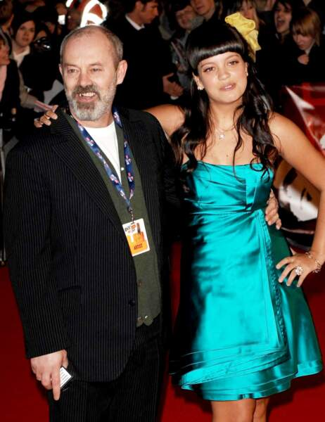 Lily Allen et son papa