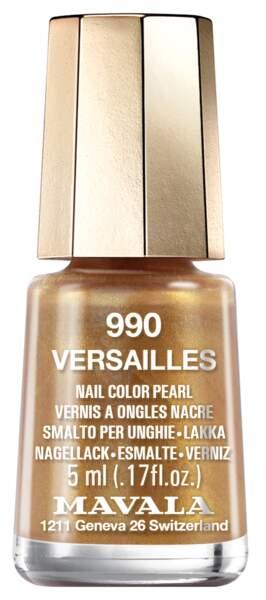 990 Versailles, 5,60 €, Mavala (disponible à partir de mi-septembre)