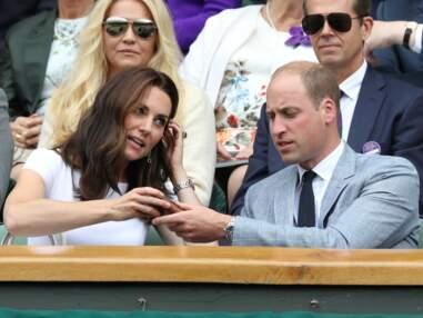 Kate Middleton et le prince William amoureux, complices et euphoriques à Wimbledon