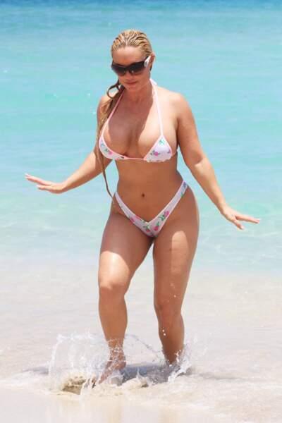 Les pires maillots des people en vacances : Coco Austin à Miami