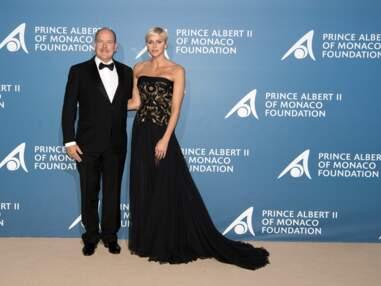Charlène et Albert de Monaco très complices au gala pour l'océan de Monte-Carlo