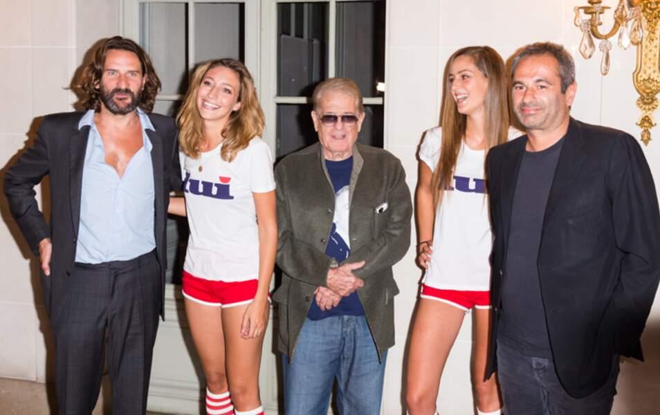 Chez Lui, c'est une tradition d'aimer les femmes : Frederic Beigbeder, Daniel Filipacchi et Jean-Yves le Fur