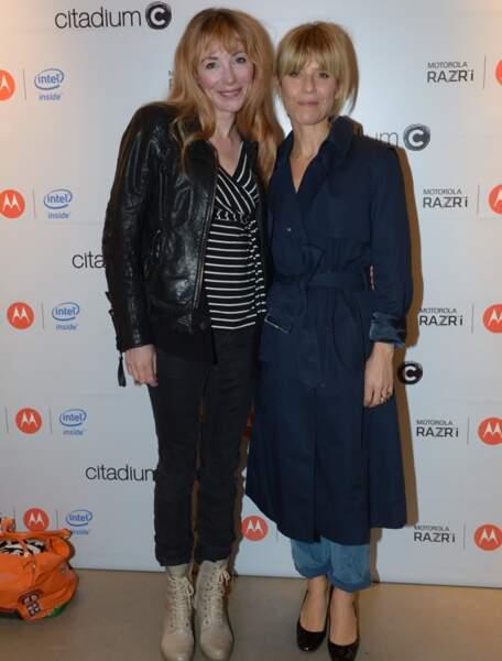 Marina Foïs et Julie Depardieu