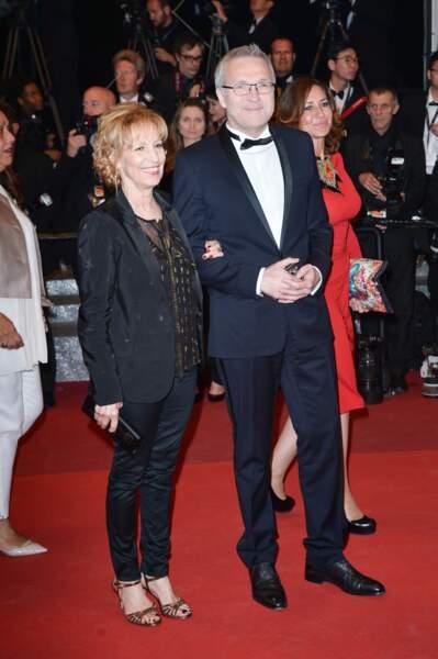 Laurent Ruquier et Catherine Barma