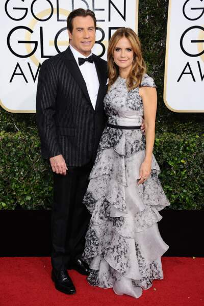 Golden Globes 2017 : John Travolta et Kelly Preston