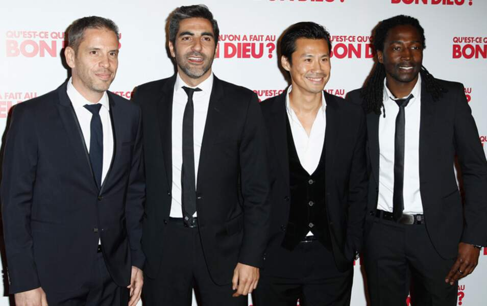 Medi Sadoun, Ary Abittan, Frédéric Chau et Noom Diawara