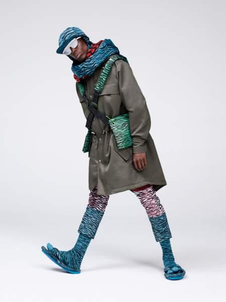 La collaboration Kenzo x H&M de 2016, Oko Ebombo