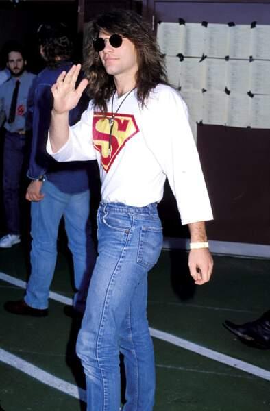 MTV Video Music Awards : Bon Jovi en 1989. Un super look