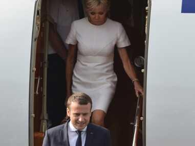 Emmanuel et Brigitte Macron : la première dame très chic au Maroc