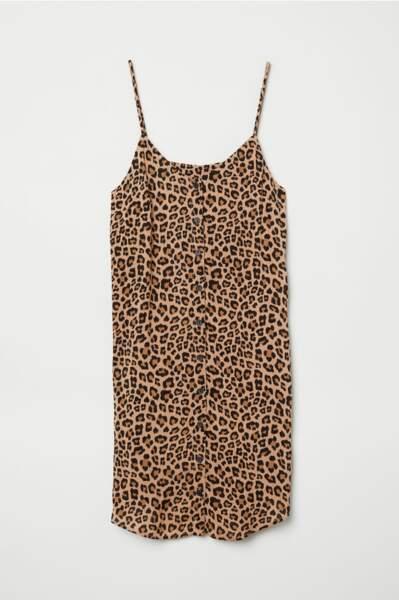 Robe à boutons, H&M, 19,99€