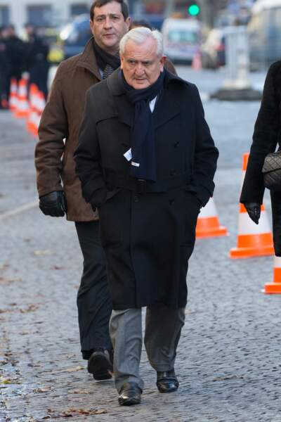 Les politiques présents lors de l'hommage à Johnny Hallyday : Jean-Pierre Raffarin
