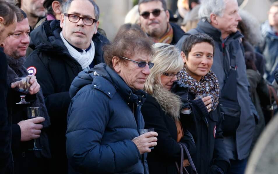 Alain Souchon aux obsèques de Jean-Louis Foulquier