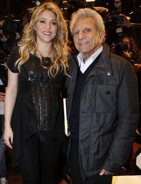 Shakira et son papa