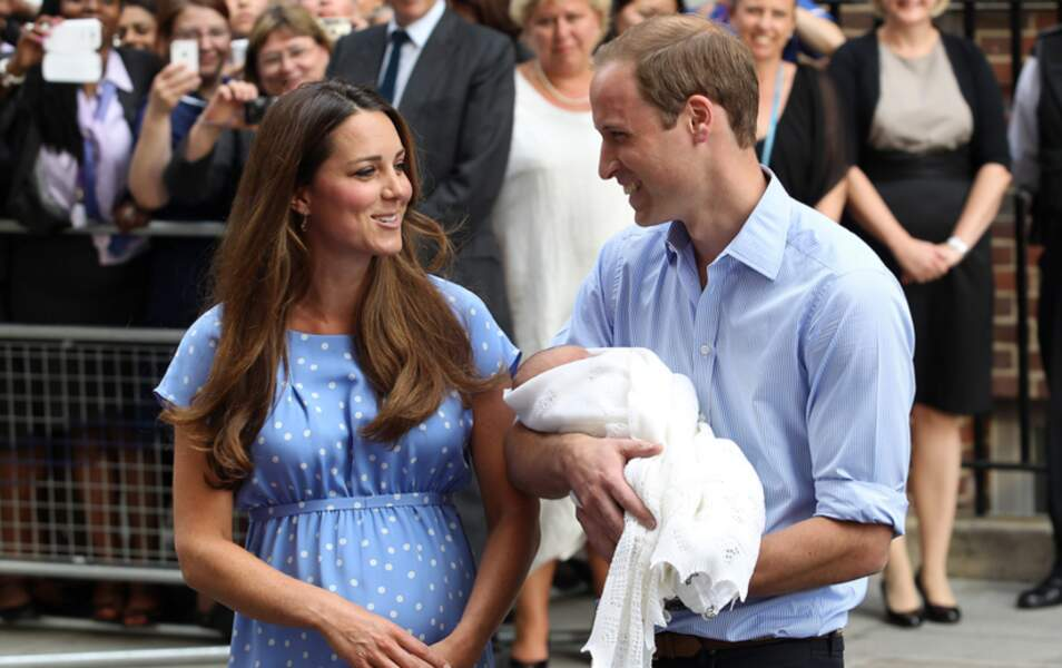 Kate, William et leur fils