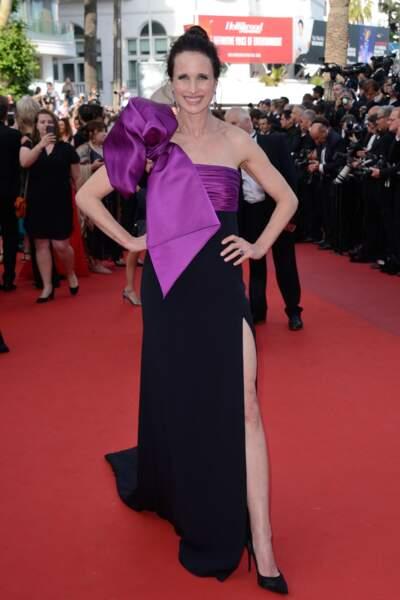 Festival de Cannes 2017 : la tenue d'Andie MacDowell ? C'est cadeau