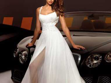 Irina Shayk sublime en robe de mariée