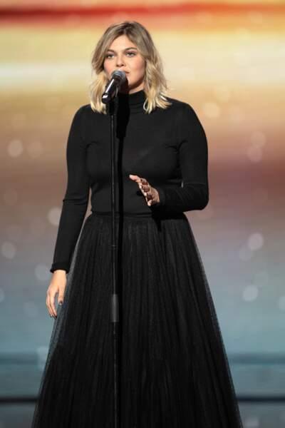 Louane violemment critiquée par les internautes après son passage aux Victoires de la Musique