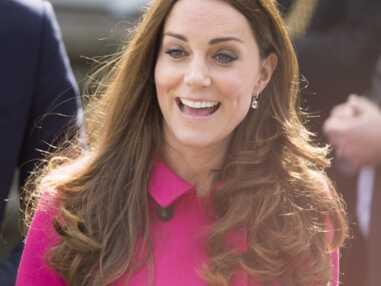 Kate Middleton radieuse pour sa dernière sortie officielle avant son accouchement