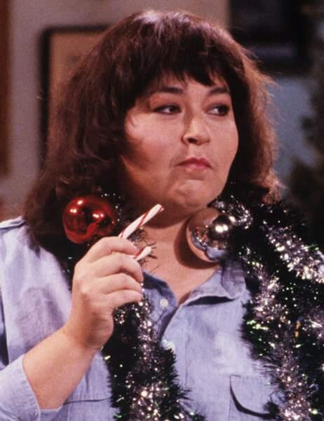 Perte de poids de stars : Roseanne Barr avant