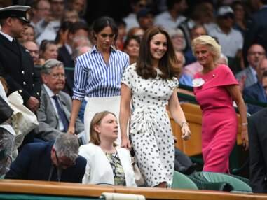 Kate Middleton et Meghan Markle très complices pour leur première sortie officielle à Wimbledon