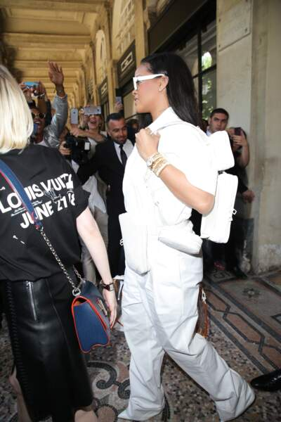 Fashion week Hommes, défilé Louis Vuitton : Rihanna
