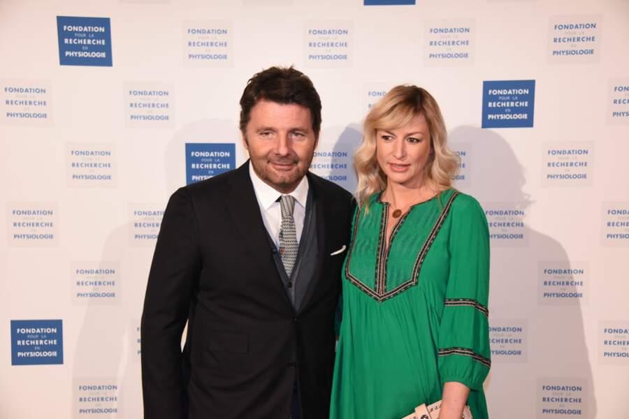 Gala Les Stethos D'Or 2018 : Philippe Lellouche et sa nouvelle compagne Vanessa Boisjean