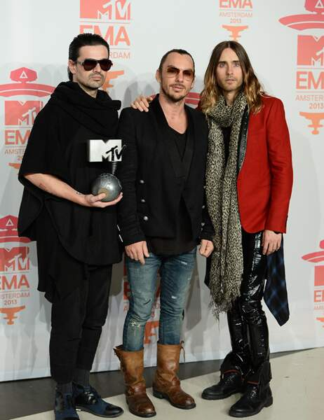 Jared Leto et son groupe, 30 Seconds to Mars