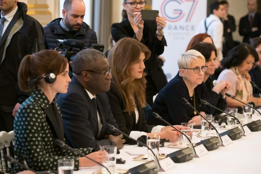 Conseil pour l'égalité entre les femmes et les hommes à l'Elysée, le mardi 19 février