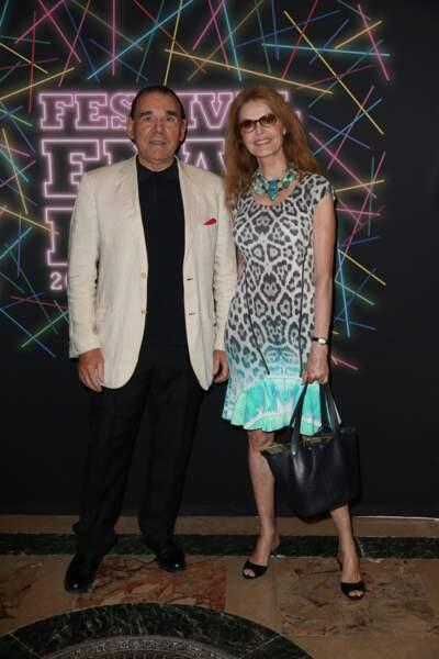 L'actrice française Cyrielle Clair et son mari, Michel Corbière