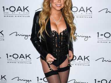 Mariah Carey débarque dans une boîte de nuit en porte-jarretelles