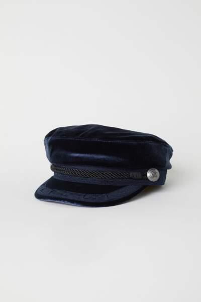 Casquette de marin, H&M, 6,99 euros au lieu de 14,99 euros