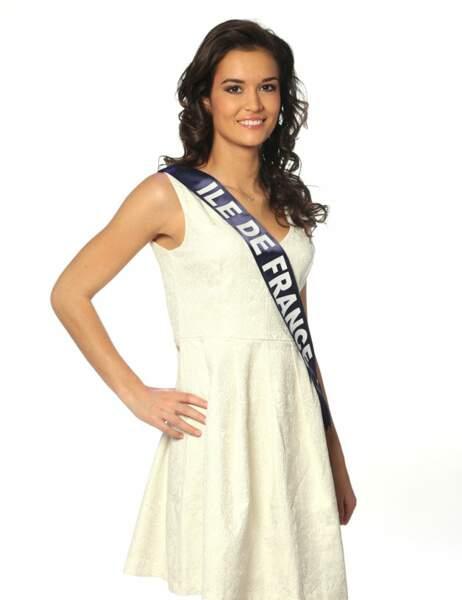 Miss Île de France - Laeticia Vuillemard, 20 ans, 1m73
