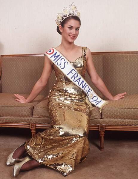 Miss France 1994: Valérie Claisse