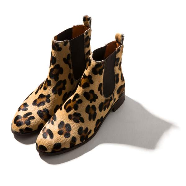 Bottines Josepha Leopard, Balzac Paris, 165€