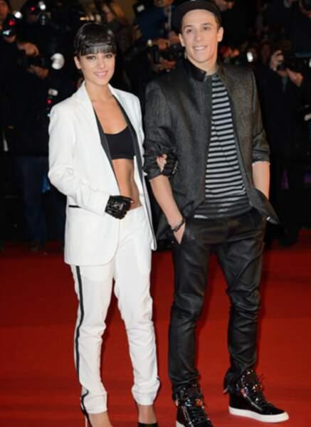 Alizée et ses abdominaux, avec Grégoire Lyonnet