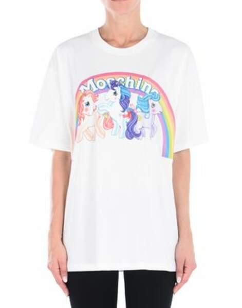 Tshirt licorne Moschino, 177 euros