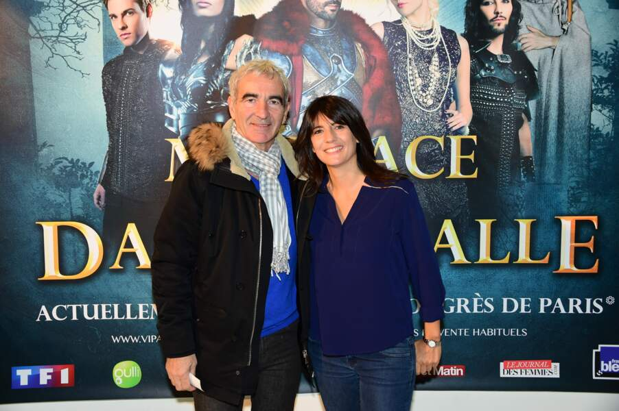 Estelle Denis & Raymond Domenech