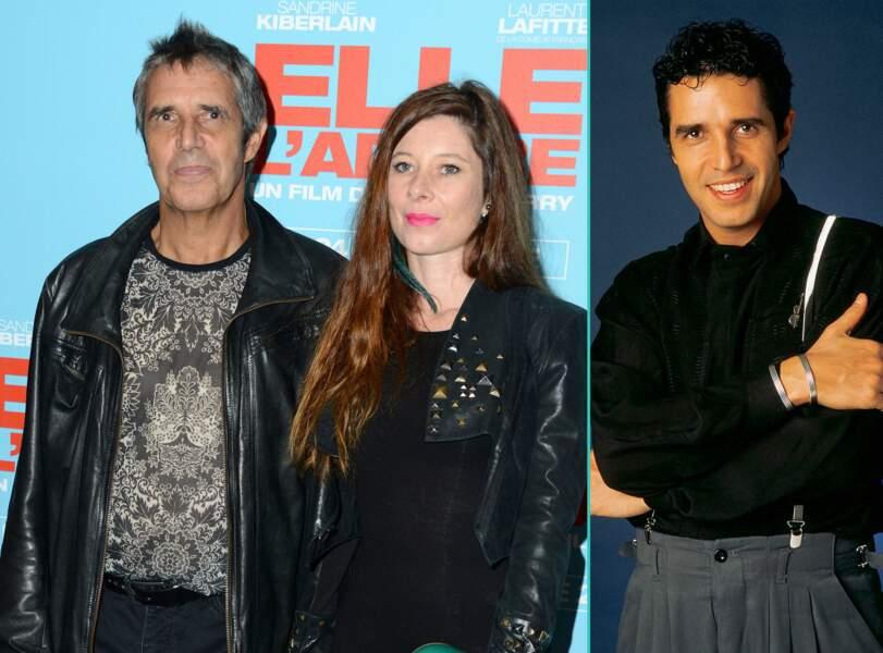 Julien Clerc aujourd'hui à 68 ans et à 39 ans, l'âge actuel de sa femme Hélène Grémillon