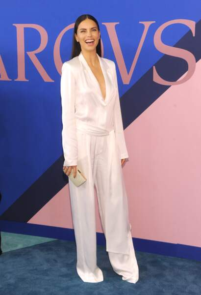 CFDA Fashion Awards 2017 - Adriana Lima était plutôt sage