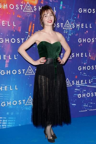Avant-première de Ghost in the Shell : Alix Benezech