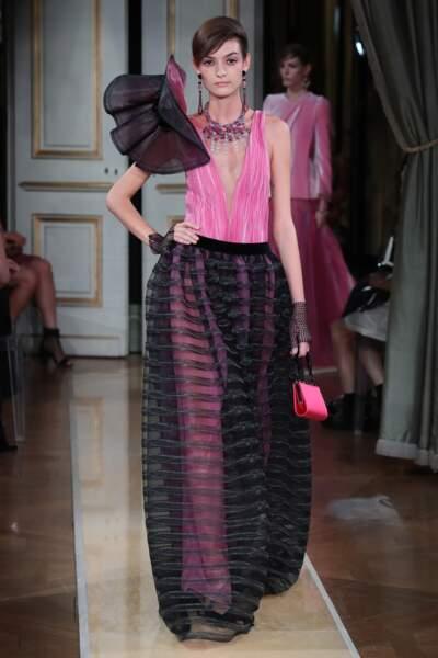 Fashion Week : défilé Giorgio Armani