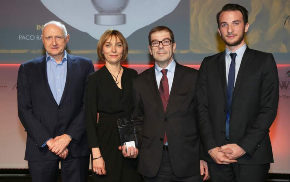 Dominique Ropion, Véronique Nyberg, Jean-Yves Granger et Nathan Hakim pour Invictus de Paco Rabanne