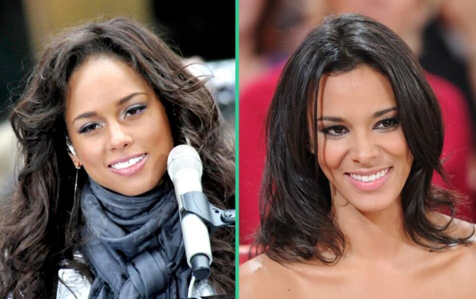 Alicia Keys et Shy'm