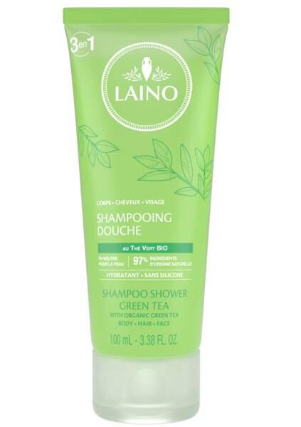 Shampooing Douche 3-en-1. 100 ml, Laino, 3,10 €