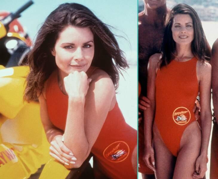 Mitzi Kapture à l'époque où elle jouait le lieutenant alex Ryker dans Alerte à Malibu